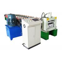 Quality A/C Motor Downspout Roll Forming Machine , Gutter Bending Machine For Drainage System for sale