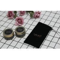 Quality Black Label Scented Tin Candles Essential Oils Handmade Soy Wax Candle for sale