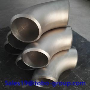 Butt weld fittings Duplex Stainless Steel 1inch SCH40 90 Deg Elbow LR Monel400 B16.9