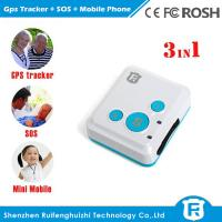 Quality Very small size location tracking children senior gps mobile phone/emergency watch phone for sale