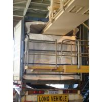 Quality 20 foot PP woven rice dry bulk container liners with conveyor belt loading for sale