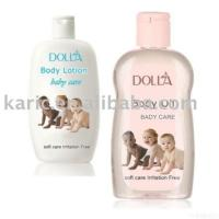 Quality Natural Baby Oil Baby Lotion Cream Irritation Free Light Scent for sale