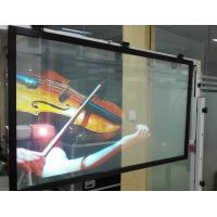 Quality Holographic Rear Projection Film Transparent Hologram Foil 100um Thickness for sale