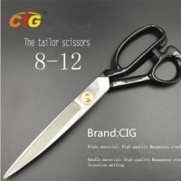 "Quality 8"" - 12"" Stainless Steel Tailor Scissors For Cutting Fabric , Leather for sale"