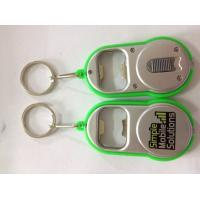 China Multi-function Simple Mobile Solutions Mini Bottle Opener Led Flashlight Keychain For Advertising Gift on sale