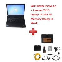 Quality WIFI BMW ICOM A2+B+C Diagnostic and Programming Tool 2019/12V with T410 Laptop Ready To Work for sale
