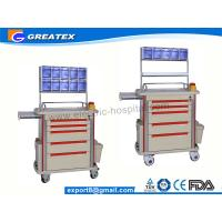 Buy cheap Multi Function Medical Trolley Five Drawers With Anesthesia Stand & Storage Box ABS Anesthesia Troll  (GT-TAQ202) from Wholesalers