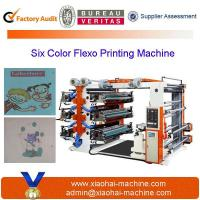 Six Colors Flexographic Printing Machine For Sale