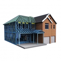 Quality modern design prefabricated house, prefabricated house villa,Customized Prefabricated House for sale
