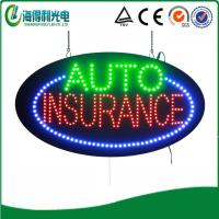 China HSA0095 15x27 LED auto insurance sign and led display module on sale