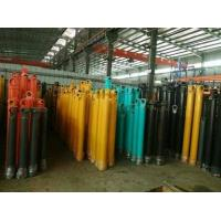Quality Hang Upside Down Telescopic Cylinder Double Acting Heavy Duty Stoke 16m for sale