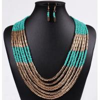 Quality European and American big bohemian jewelry hand-woven multi-meter Pearl Necklace for sale