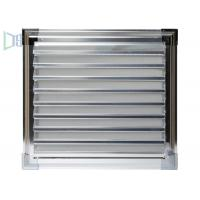 Quality Sun Control Extruded Aluminium Louvre Windows for Home / Building Decoration for sale
