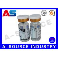 Quality Removable Pharmaceutical Bottle 10ml Vial Labels  Hologram Printing for sale