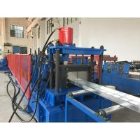 Quality 4-5 Meters / Min Cable Tray Roll Forming Machine Hydraulic Cutting Cr12mov for sale