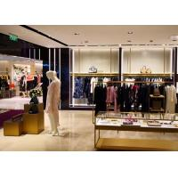 China High End Clothing Store Display Fixtures With Hanging Rack Decoration Design on sale