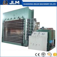 Quality shandong jinlun 400t .500t 15 layer woodworking hot press machine for sale