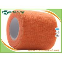 Quality Self Adhering Coflex Elastic Cohesive Bandage / First Aid Tape For Healthcare for sale