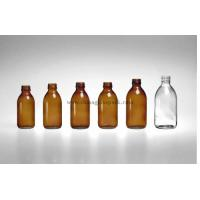 Buy cheap moulded glass bottle(glass bottles for syrups DIN Pp28mm) from wholesalers