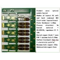 China OEM Flexible Rigid PCB HDI 3m Buried Material FR4 TG170 For Optical Module Product on sale