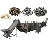 Quality Automatic Nuts Roasting Machine For Pumpkin And Watermelon Seeds , 300-1000 Kg / H for sale