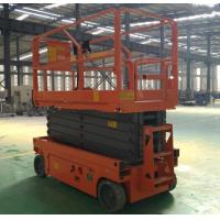 Quality Full Electric Aerial Boom Lift Manganese Steel Mobile Platform Lift for sale