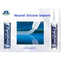 Quality Low Modulus Neutral Cure Silicone Sealant One Part Clear / White / Black / Gray Custom Color for sale