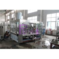 Quality 10000BPH Non-Carbonated Plastic Water Bottling Machine With CIP Cleaning Head for sale