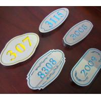 Quality Osign Engraving Sheet ABS Material Full Color For Point - Of - Purchase Displays for sale