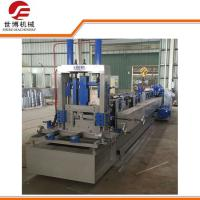 Quality Gray Color 380v C Purlin Forming MachineWith Hydraulic Punching Device for sale
