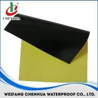 Quality PVC waterproof membrane with fabric thickness 1.2mm-2.0mm all color for sale