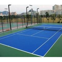 Quality Outdoor / Indoor Tennis Court Flooring MaterialSlip Resistant Cushioned For College for sale