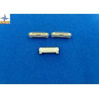 Quality 1.25mm Pitch Vertical SMT Connector With Phosphor Bronze Material A1253WVA Series for sale