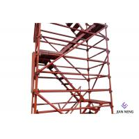 Quality 2500X1200mm Highways Scaffold Stair Tower Good Overall Stability With Twin Guardrail for sale