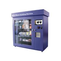 Quality Large Glass Window Mini Mart Vending Machine with Industrial Grade Control Board for sale
