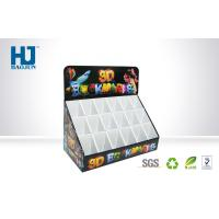 Quality Recyclable cardboard custom Counter Display Boxes with Hot Stamp Printing for sale