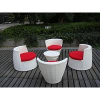 Quality All Weather PE Rattan Obelisk Chair For Office / Patio Leisure for sale