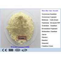 Light Yellow Trenbolone Enanthate Powder Cutting Cycle Steroid CAS