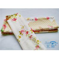 Quality Household Microfiber Printed Kitchen Cleaning Cloth / Microfiber Towels for sale