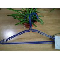 Quality Multi Color Powder Coating Hangers / Metal Wire Hangers 1.8 - 2.5mm Thickness for sale