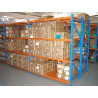 Quality powder coating finished cold rolled steel storage racking system for warehouse for sale