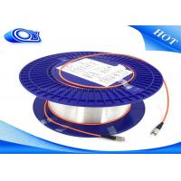 Quality multimode fiber patch cable / Indoor Fiber Optic Cable Diameter 0.25mm - 3.0mm for sale