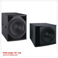dual 18-inch subwoofer speaker box+ sub bass speakers china dj