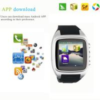 Quality 2015 Watch phone Smart sim card smart watch phone 1.54 inch TF Card Camera Android for sale