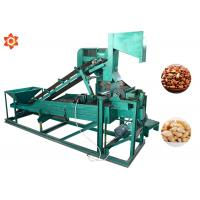 Quality Low Energy Consumption Pine Nut Shelling Machine Electric Control 1 Year Warranty for sale