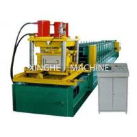 Quality 7.5 KW Galvanized Steel Purlin Roll Forming Machine With 6 Ton High Capacity for sale