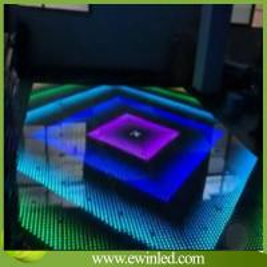 Quality LED Stage Wedding Digital P62.5 Dance Floor/LED Dance Floor Hire for sale