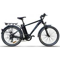 Quality Pedal Powered Electric Bike , Intelligent Brushless Motor Assisted Bike for sale