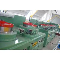 Quality Large Vertical Cable Drawing Machine , High Accurancy Cupper Rod Breakdown Machine for sale