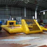 Quality Single Layer Outdoor Inflatable Football Field for Entertainment for sale